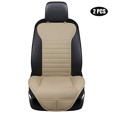 EDEALYN Soft PU Leatherette Front seat protection Car Seat Cover (1)