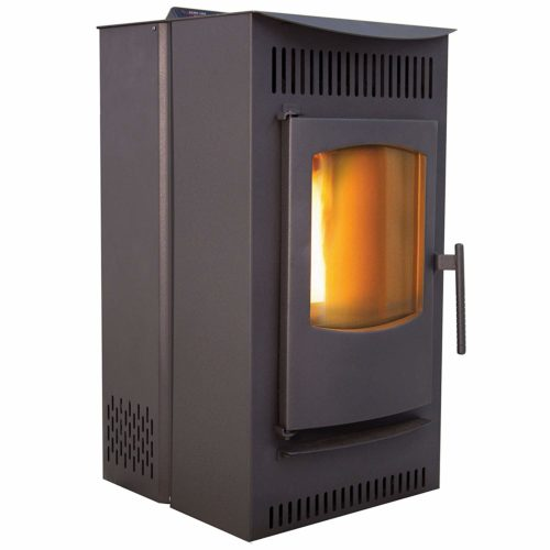 Castle 12327 Serenity Wood Pellet Stove – best pellet stove with a smart controller