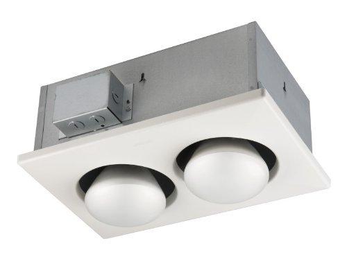 NuTone 9422P 500W Two-Bulb Heater