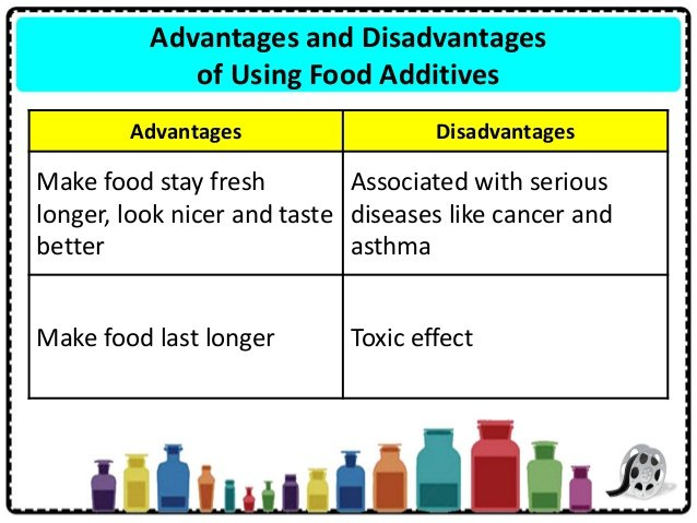 Disadvantages of processed food
