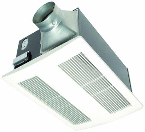 Panasonic FV-11VH2 Whisper Warm Mounted Ceiling Fan, Light & Heater